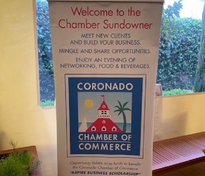 Banner of the Chamber of Commerce Event