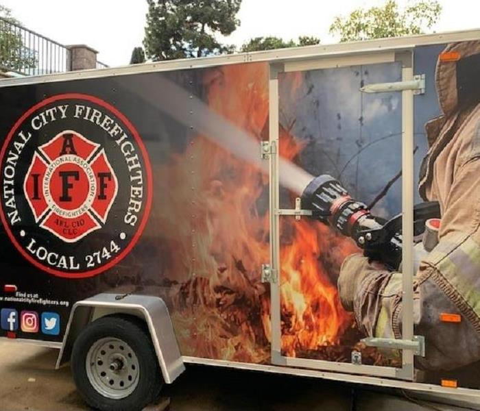 National City Fire Department Trailer